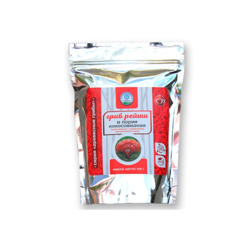 Гриб рейши и пория кокосовидная  (порошок)