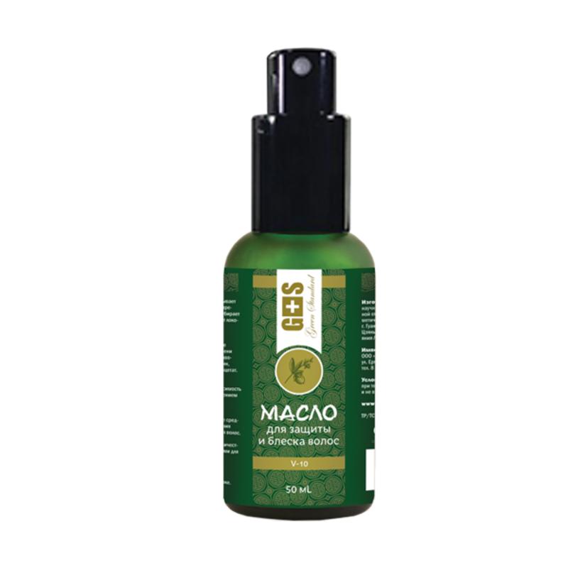 Масло для защиты и блеска волос