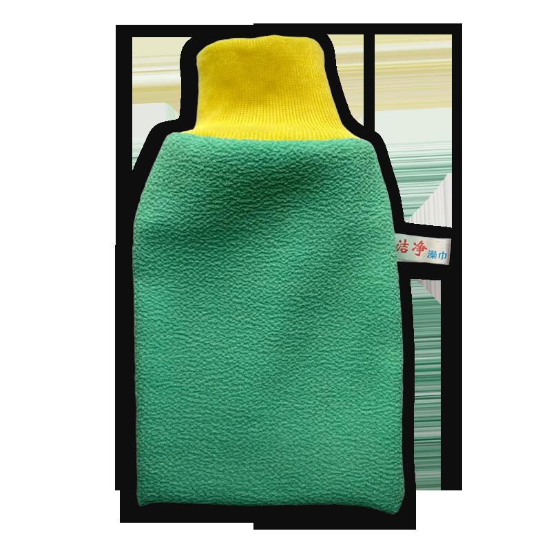 Варежка для душа текстильная из нетканых материалов