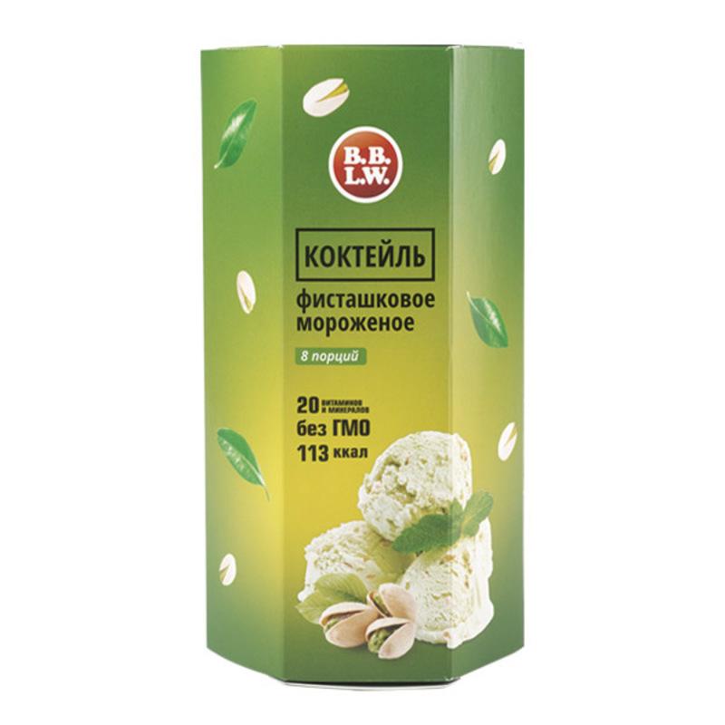 Белковый коктейль «Фисташковое мороженое»